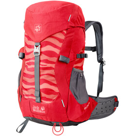 Jack Wolfskin Alpine Trail Backpack Children red